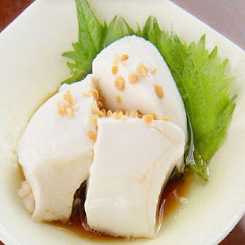 手作りジーマミ豆腐