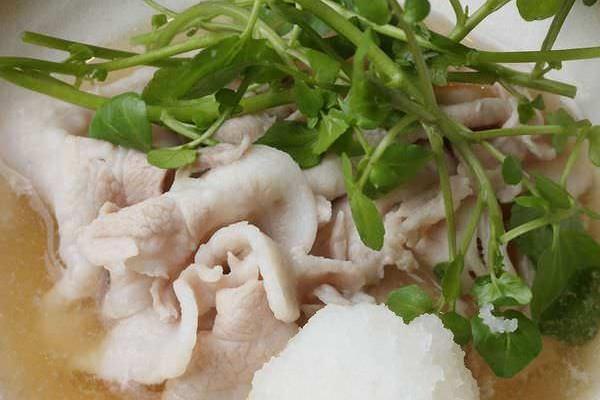 国産豚しゃぶポン酢