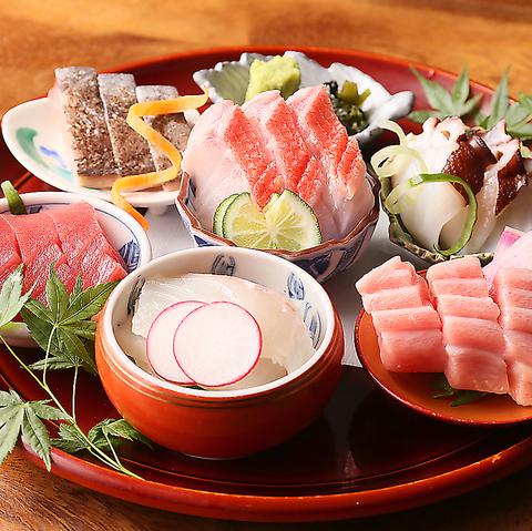 【9月限定】100分飲み放題付!秋刀魚の五目炊き込み御飯含む全10品『えどわん特選コース』