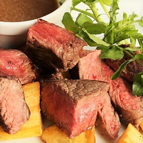 【1月】120分飲み放題付き和牛ランプ肉の鉄板焼き含む全8品『国産黒毛和牛コース』5000円