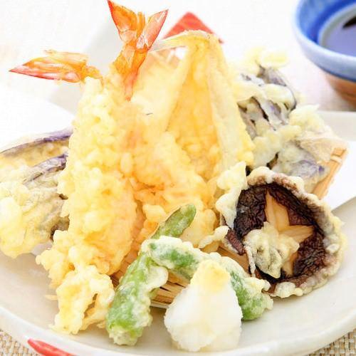 季節の天ぷら各種