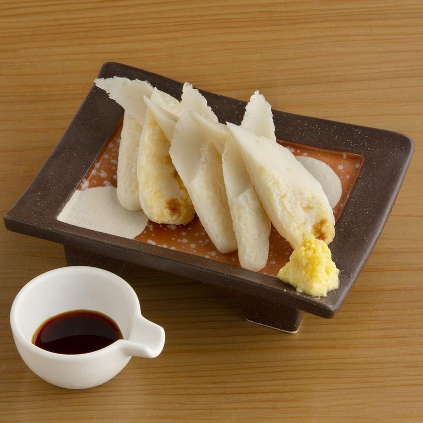 笹かま生姜醤油