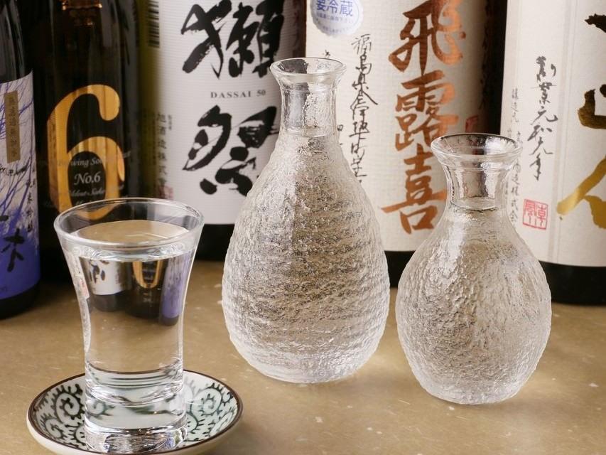 全国各地から集めた厳選日本酒