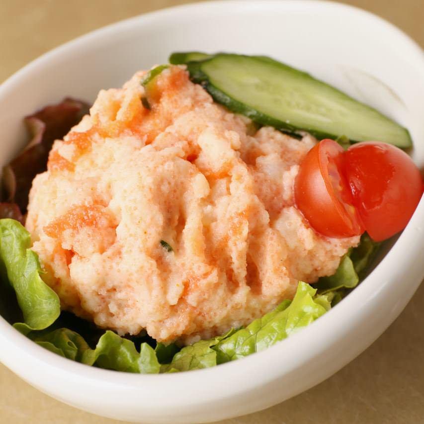 魚屋さんの明太ポテトサラダ