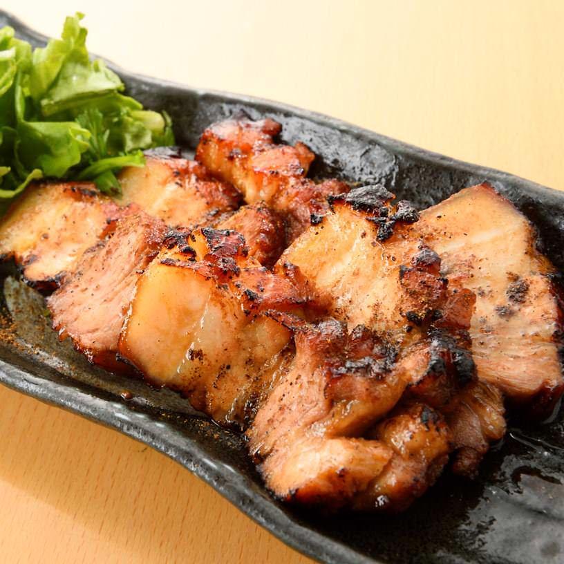 豚三枚肉の山椒だれ焼き~薫り山椒の特製タレ~