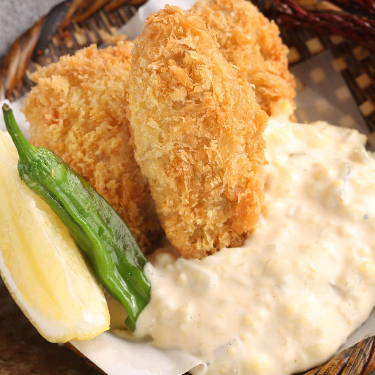 広島産牡蠣フライ