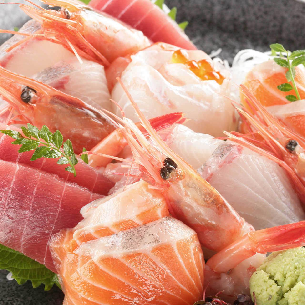 鮮魚のお刺身盛合せ