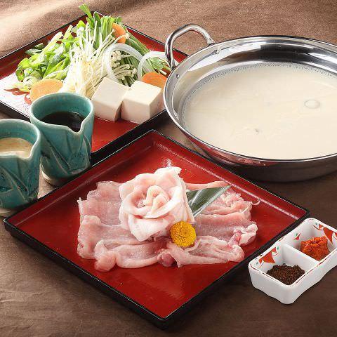 和豚もち豚の発酵衣麹鍋