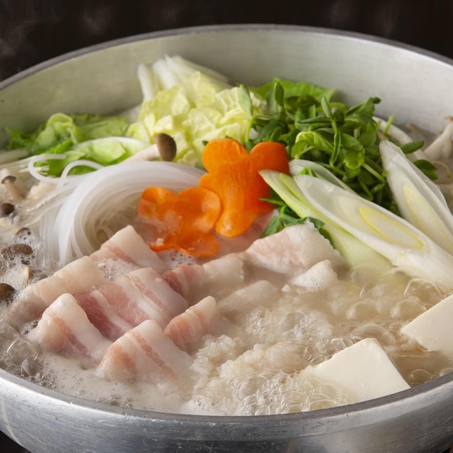 和豚もち豚の発酵麹鍋(1人前)
