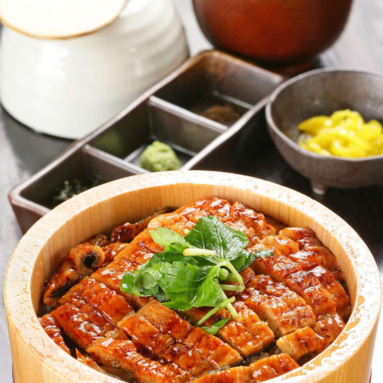 愛知県三河一色産 鰻のひつまぶし
