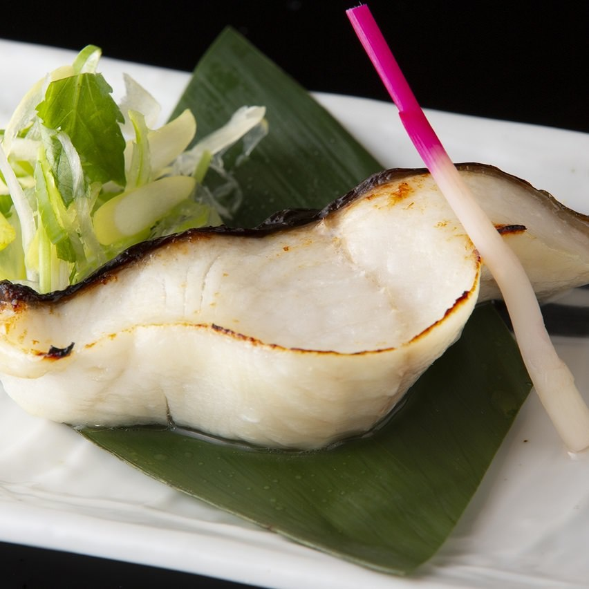 銀鱈の西京味噌焼き