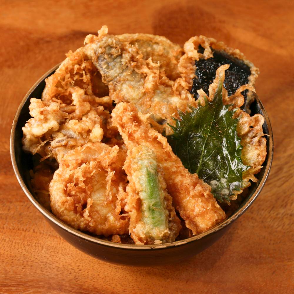 野菜天丼 800円