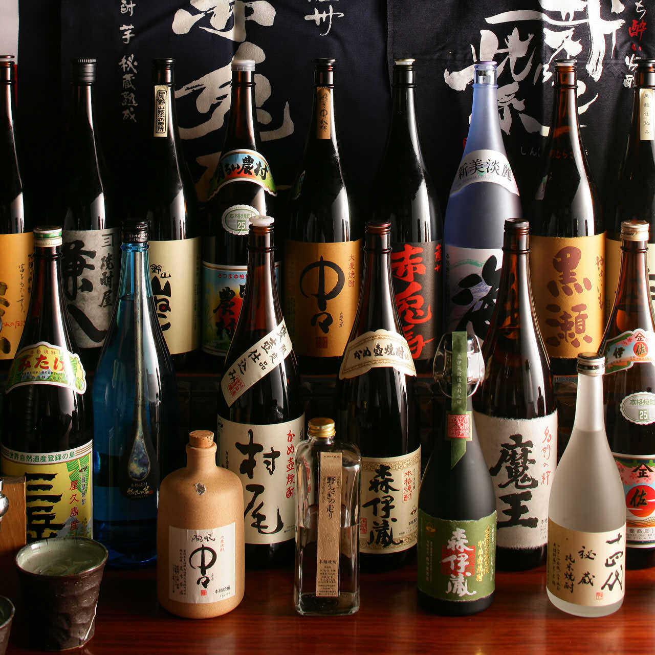 【単品飲み放題】焼酎90種類 &生ビール・サワー各種ドリンク飲み放題!90分1500円