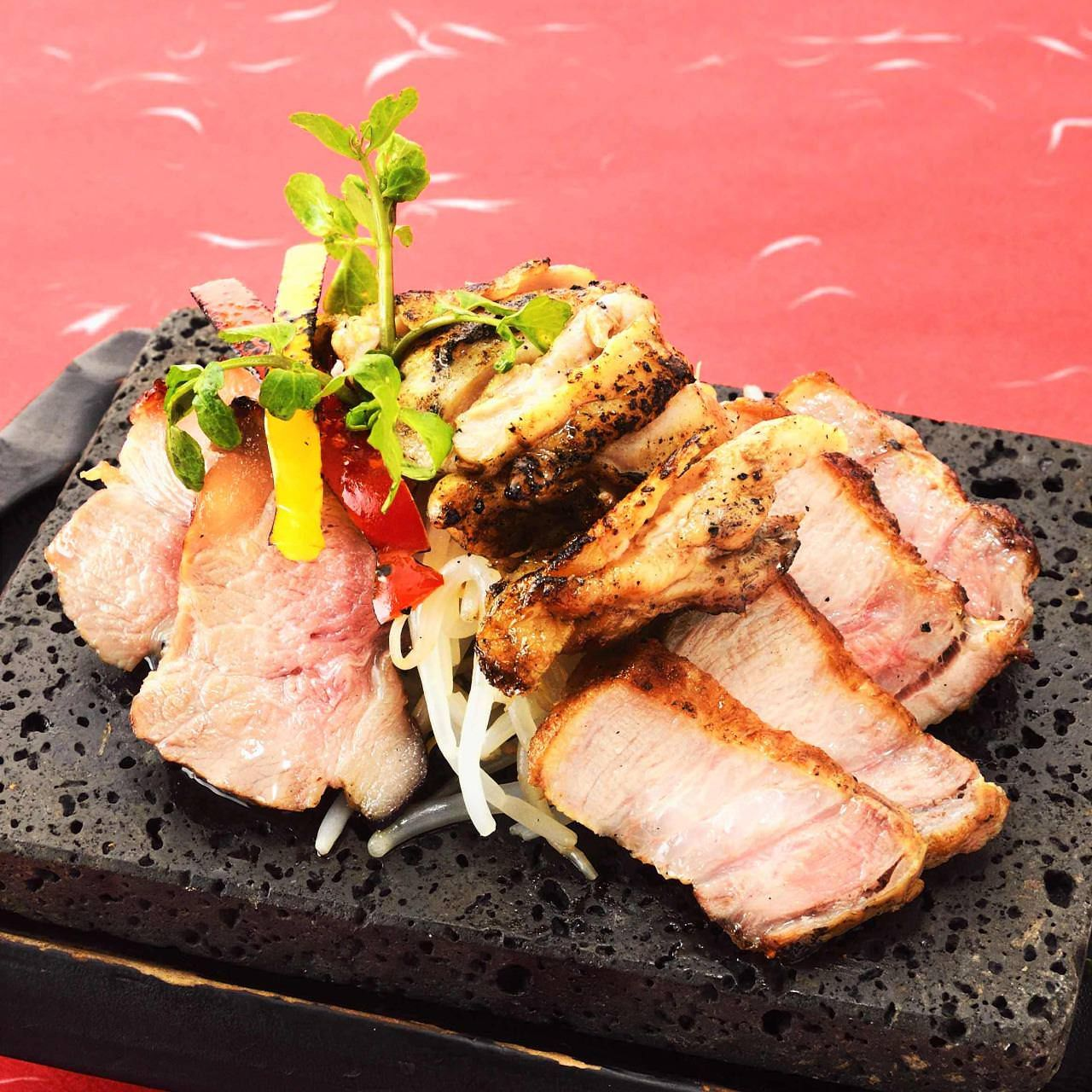 2時間飲み放題付黒豚や馬刺しなど九州料理含む全10品『芋蔵コース』4000円