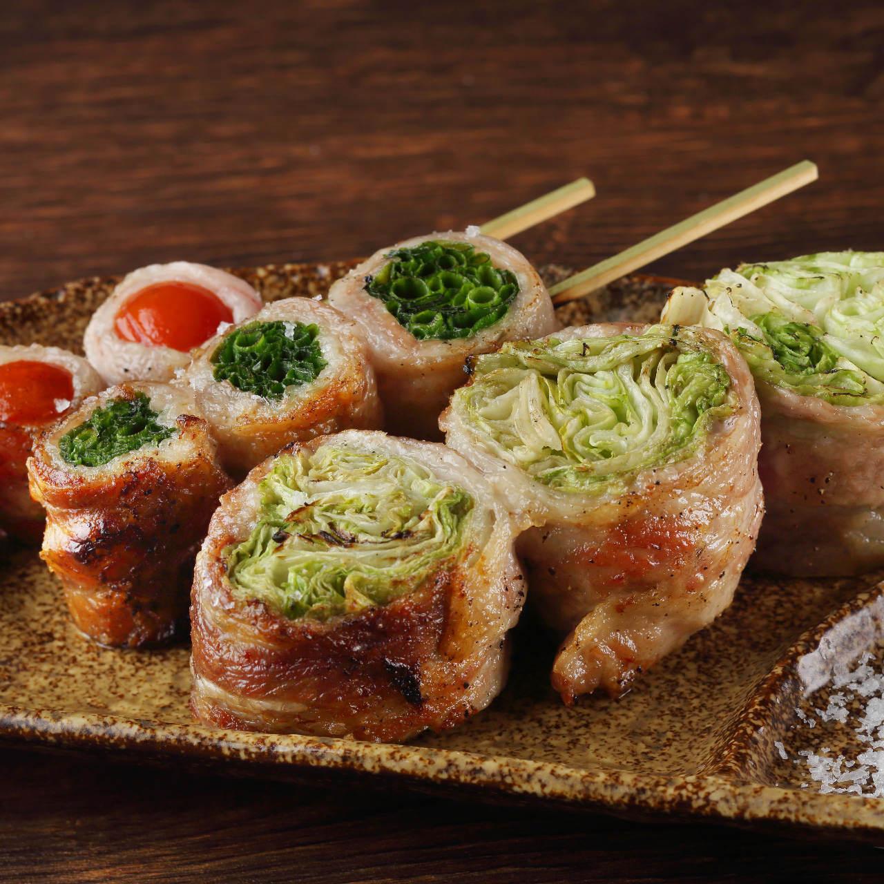野菜巻き串