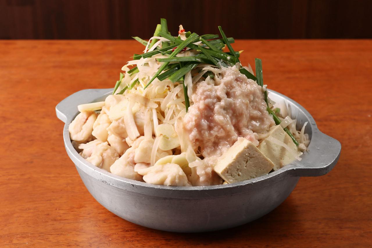芋蔵特製もつ鍋(塩)