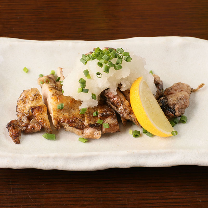 福島伊達鶏もも肉柚子胡椒焼き