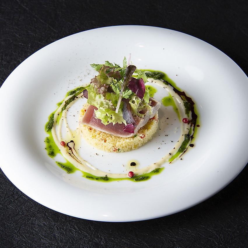 Roasted tuna
