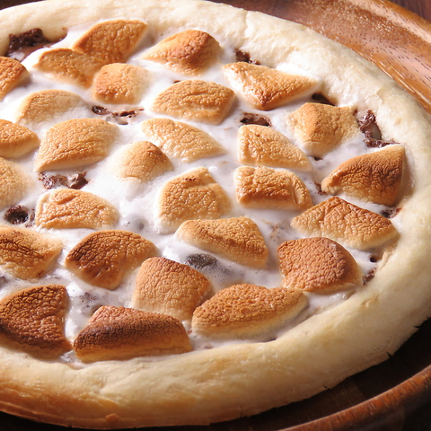 チョコレートスモアピザ