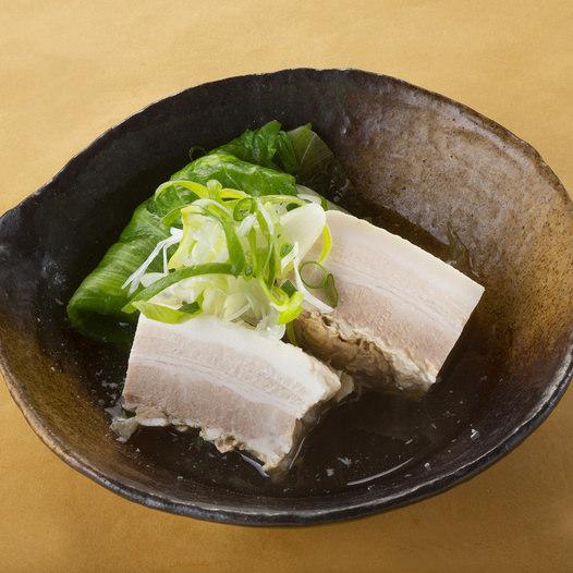豚とレタスの塩糀角煮
