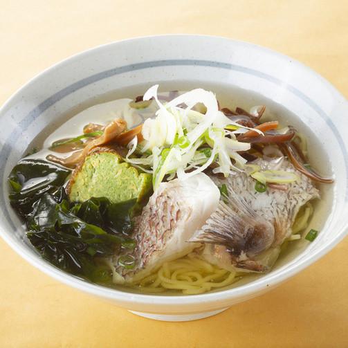 【名物3】真鯛塩ラーメン