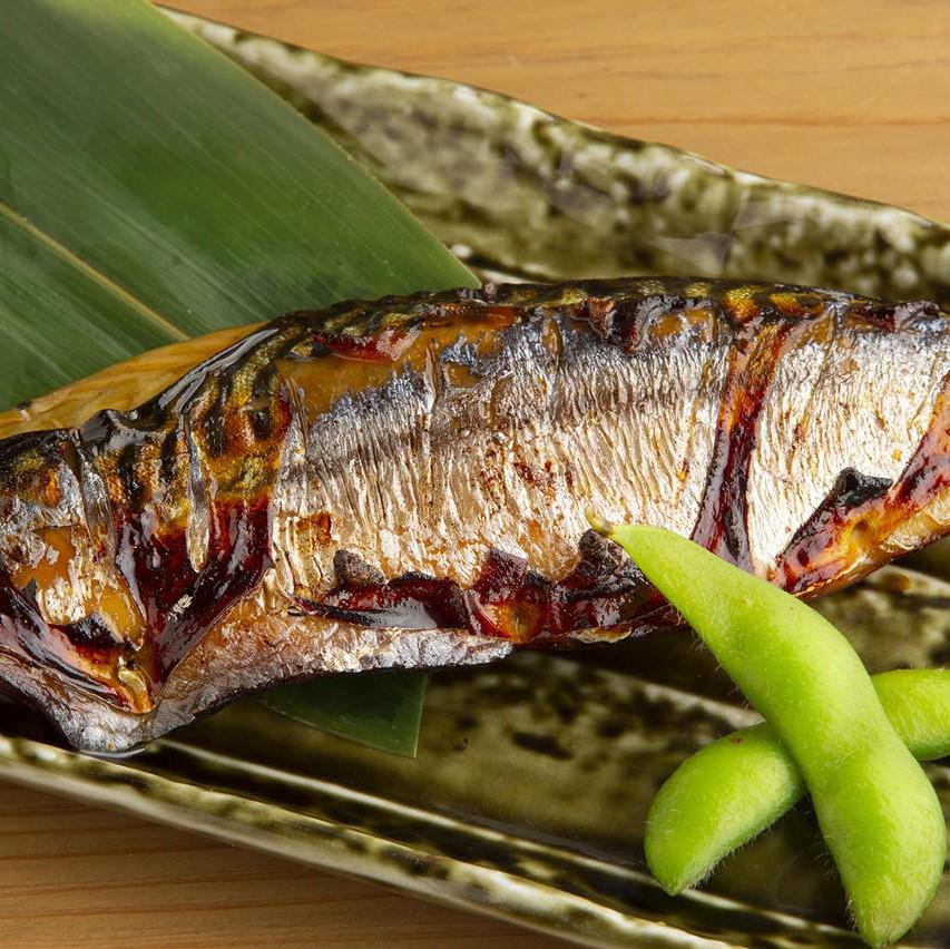 トロ鯖の炙り
