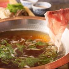 【3.4月限定】~GOTOEAT開催特別プラン~和豚もち豚の発酵しゃぶしゃぶとお刺身食べ比べコース