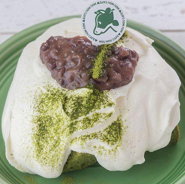 静岡店限定!岡部抹茶のもちふわシフォンケーキ