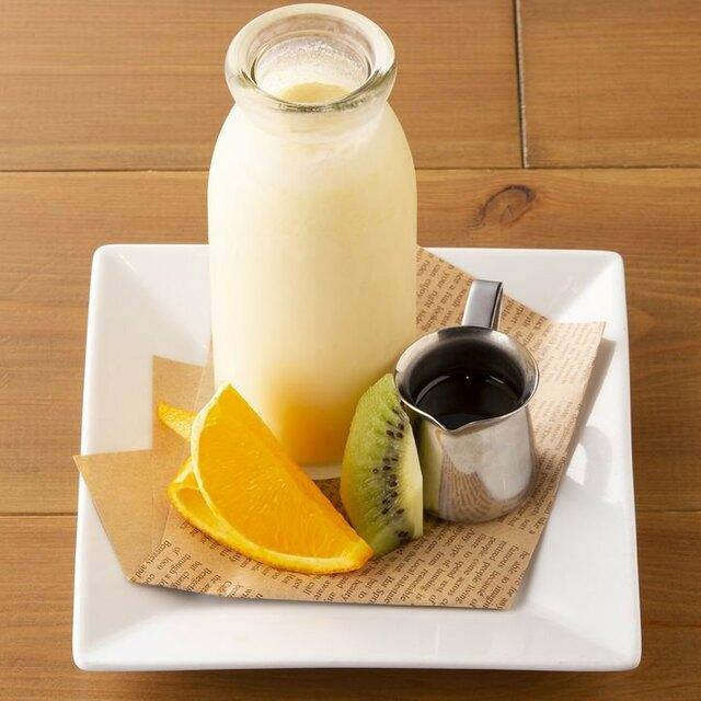 北海道生クリームの濃厚ミルクプリン