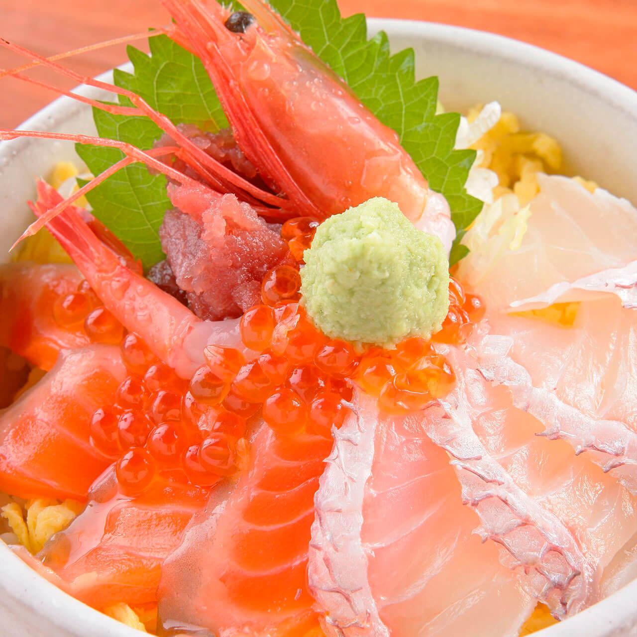 海鮮ばらちらし丼