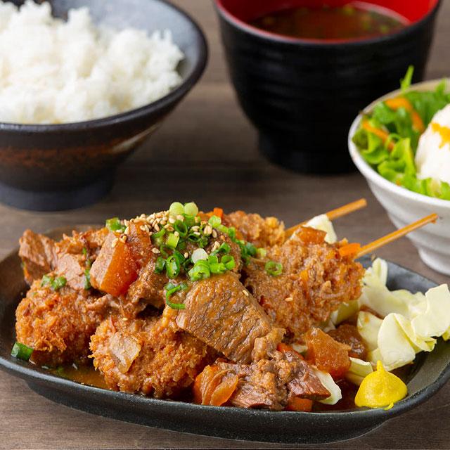 【名古屋飯!どてかつ定食】