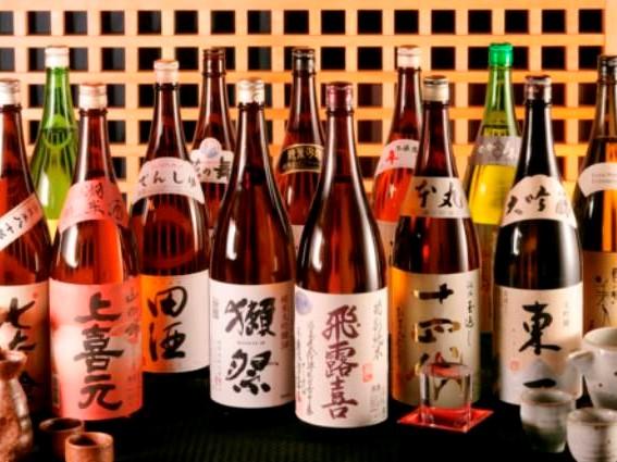 全国の日本酒を厳選