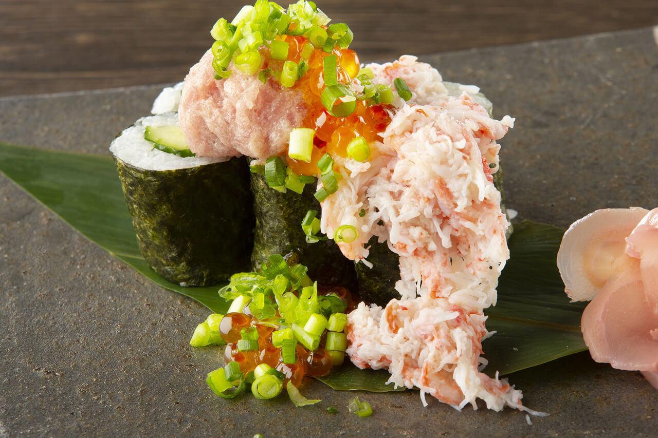 海鮮ぶっかけこぼれ寿司