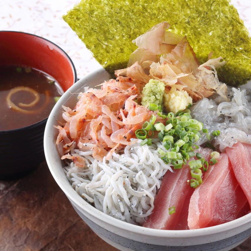 【海鮮丼】