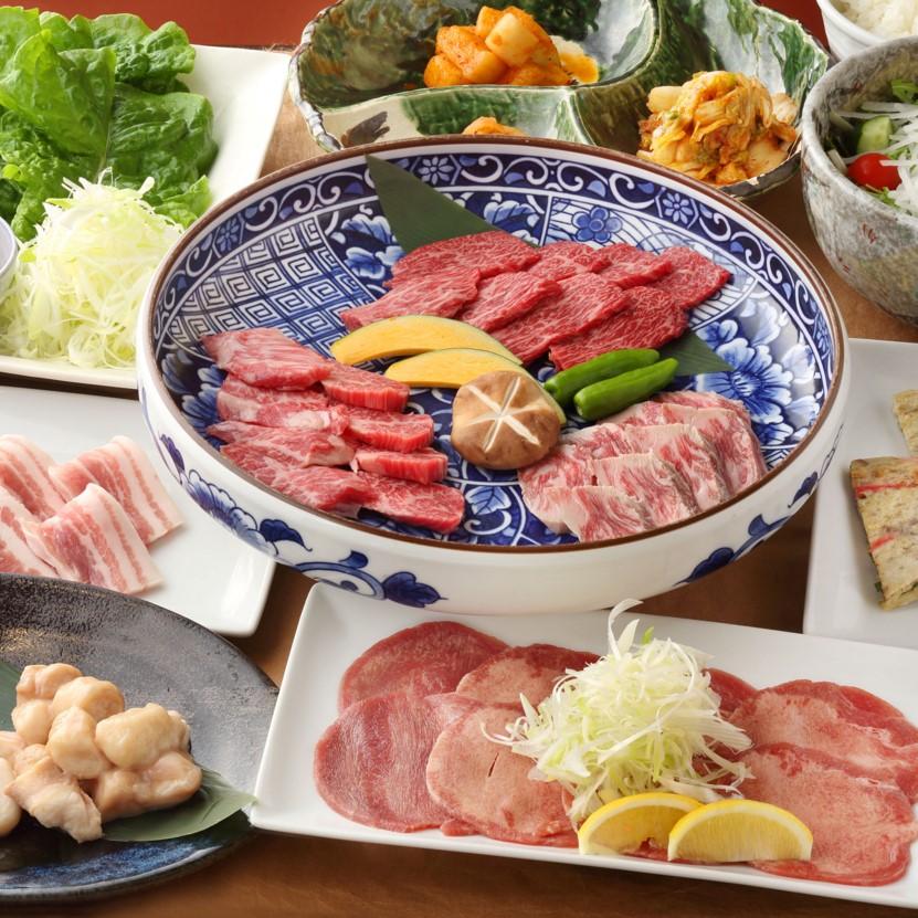 【7月】燦家の黒毛和牛コース 全10品 (料理のみ/ランチ可) ¥5,500→¥4,500