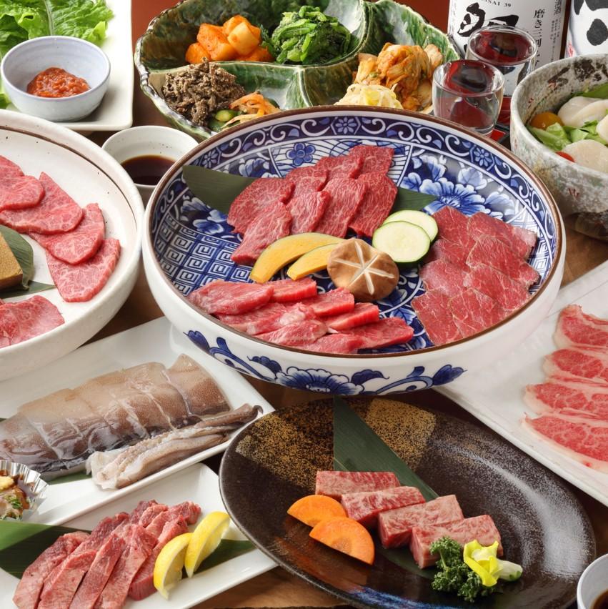 【7月】燦家の雅コース 全11品 (料理のみ/ランチ可)¥7,500→¥6,500