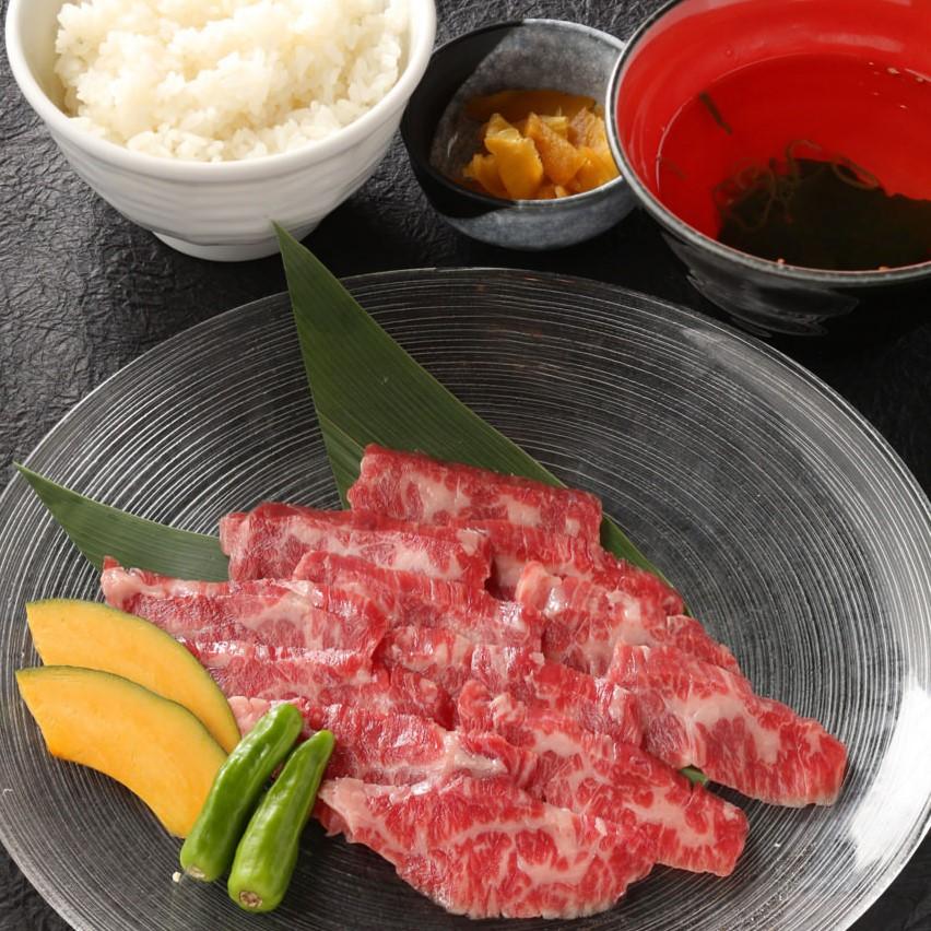 九州黒毛和牛 上カルビ 炭焼きセット