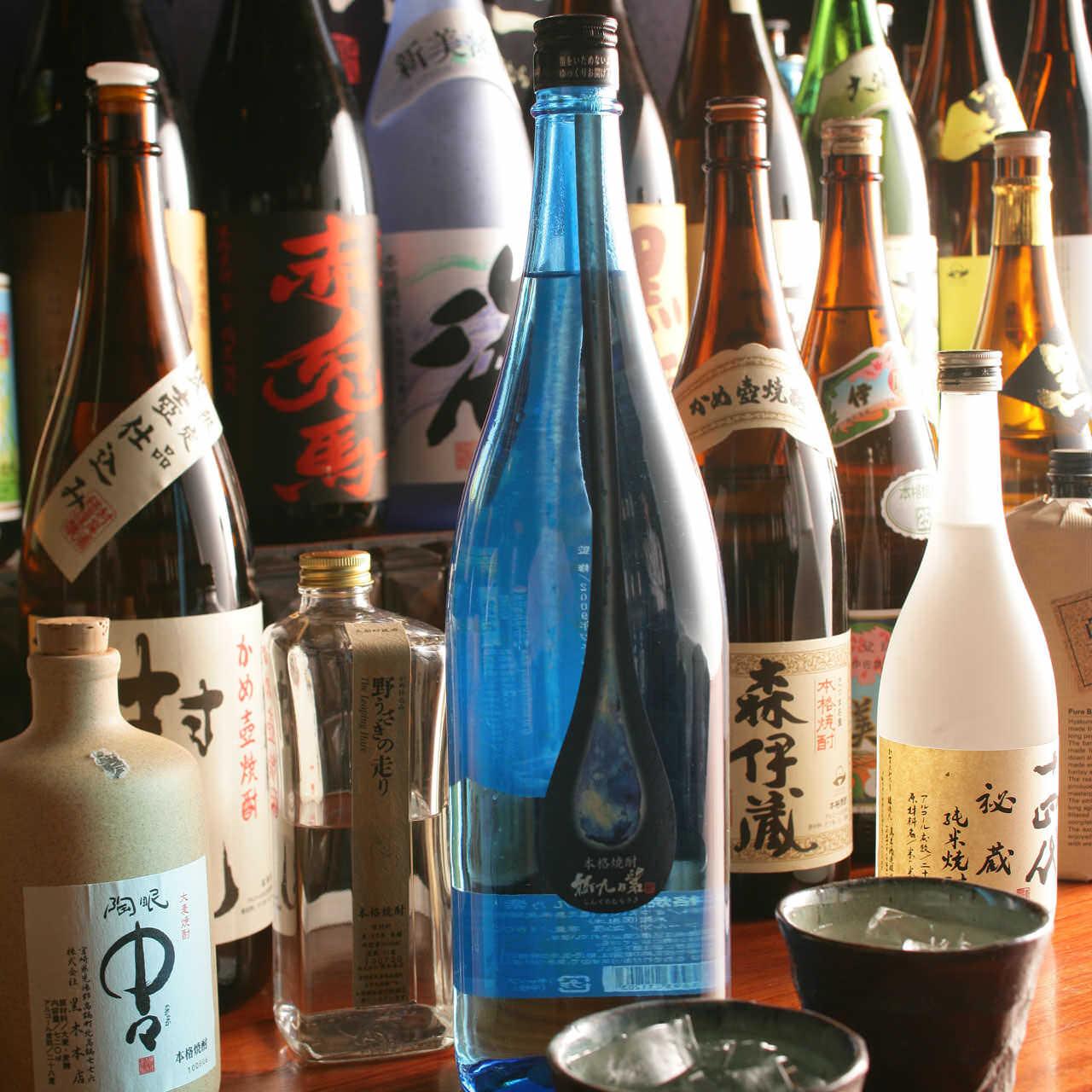 九州が誇る豊富な酒類