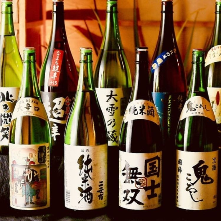 ◆特別企画第3段◆時間無制限日本酒12種含むプレミアム飲み放題2000円!全日OK