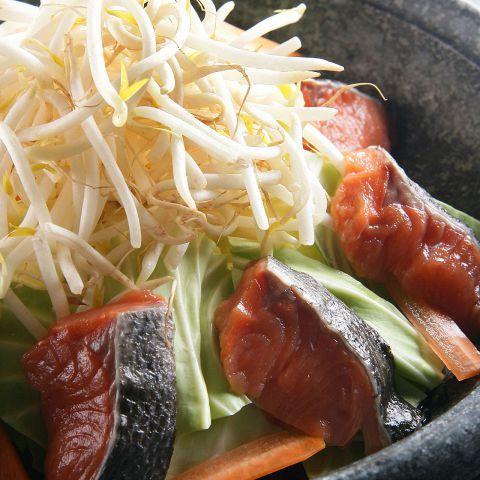 北海鮭のちゃんちゃん焼き