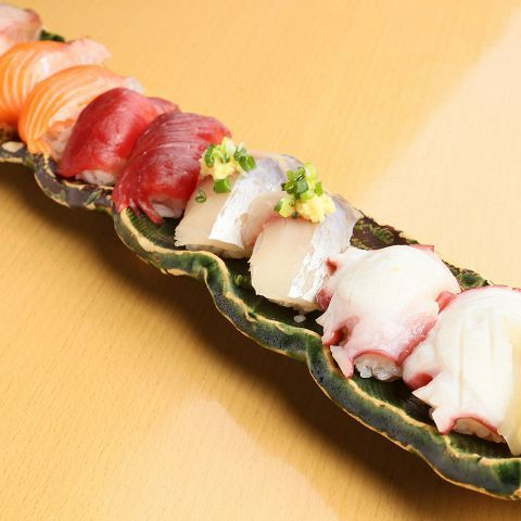 おまかせ握り寿司!