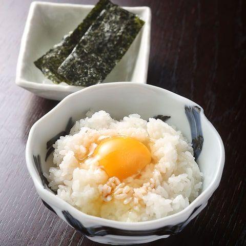 名古屋コーチン卵の卵かけごはん