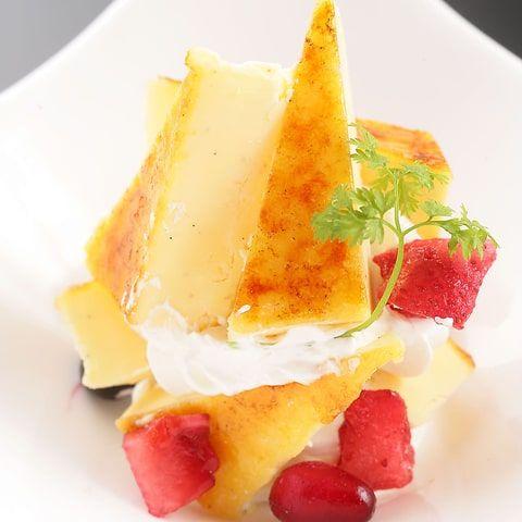 名古屋コーチン卵のカタラーナ